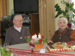 Sr Anna fête ses 100 ans !