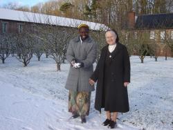 Sr Marcelline et Sr Marielle
