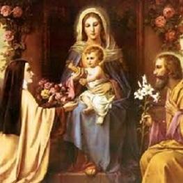 Therese_et_la_Sainte_Famille